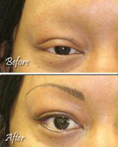 Eyebrows Example 1