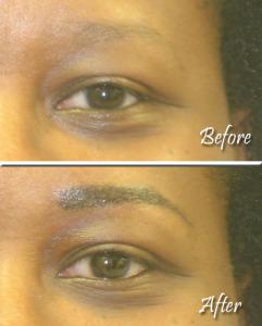Eyebrows Example 3