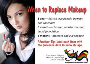 How long to keep makeup