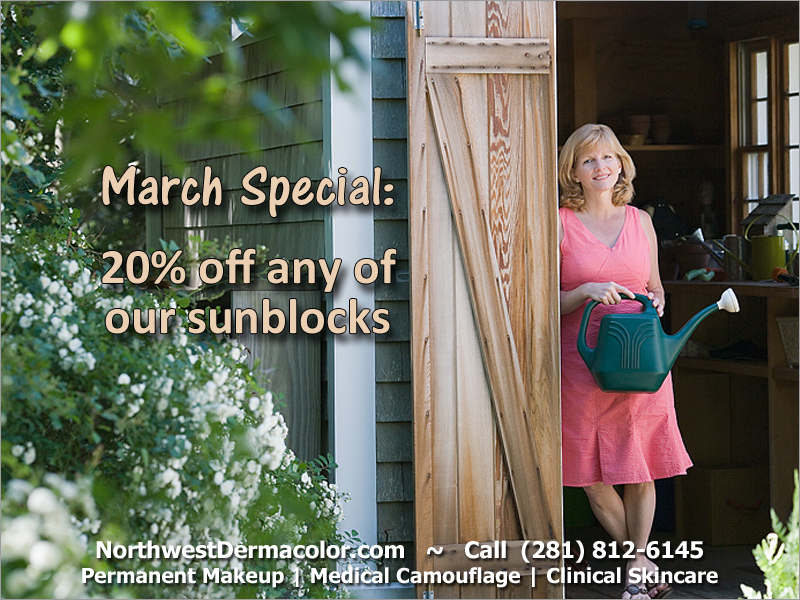 March Monthly Special