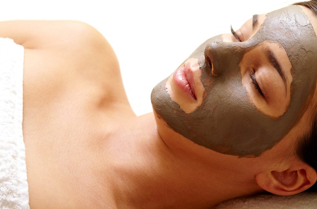 Using a facial mask