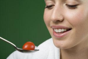 eating healthy for better skin